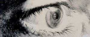 Глаза отражение