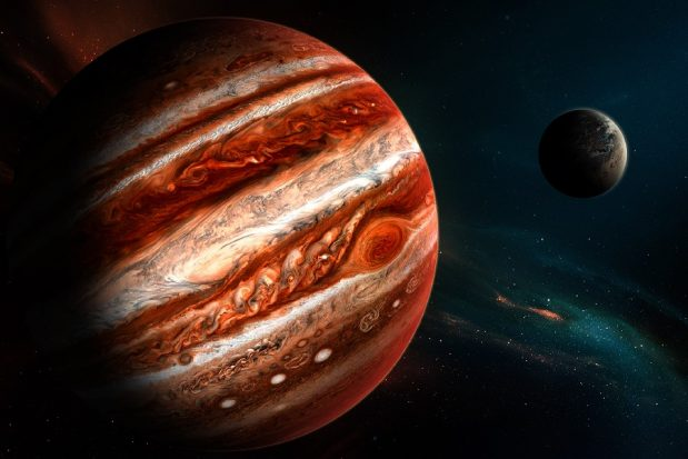 обои на рабочий стол планета юпитер № 533557 загрузить